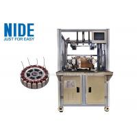 Buy cheap 2 Stations Motorcycle Wheel Stator Winding Machine product