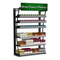 Buy cheap Painted Mobile Cigarette Display Cabinet Stand With Shelves 360 Packs product