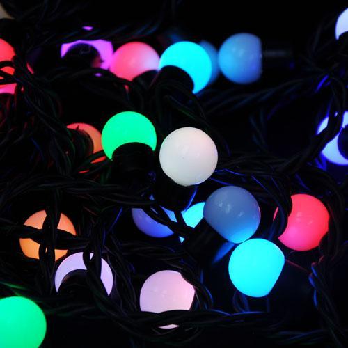 Mini Globe Led String Lights : Led Christmas Decoration Light RGB Color,Mini Globe Modeling Led String Light - 103771385