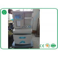 Buy cheap 5 Tubes Flow Meter Mobile Anesthesia Machine , Anesthesia Gas Machine Oxygen Probe product