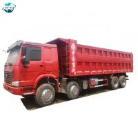 Buy cheap 8x4 Howo 420 HP 60 tons 12-wheel Tipper tractor trailer truck from sinotruck from wholesalers