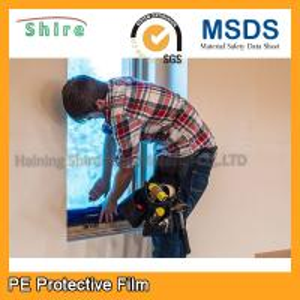 Buy cheap Фильм прочного ПЭ стеклянный защитный для конструкции окна экологически product