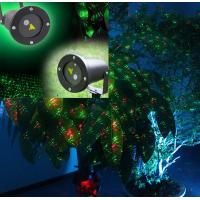 China Red and green elf laser lights/christmas lights/garden decorative tree light/red green fir on sale
