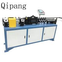 Buy cheap A Chipless 3-16mm Steel Pipe Straightening Machine Rotary Wire Straightener from wholesalers