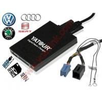 China Car Digital CD changer USB MP3 adapter for ISO 8-Pin VW Audi Skoda Seat on sale