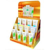 Buy cheap 3 Tier Corrugated Cardboard PDQ Display For Cosmetic Promotion With Custom Graphic from wholesalers