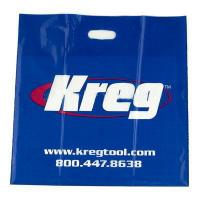 Quality Blue Die-cut Patch Handle Bags HDPE LDPE Plastic Retail Bags Degradable for sale