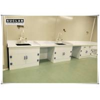 Buy cheap Epoxy Resin Countertop Chemistry Lab Furniture With PP Drawer And Base Cabinet product