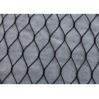 Buy cheap Black Oxide Ferrule Wire Rope Mesh , High Durability Metal Rope Mesh For Architectural product