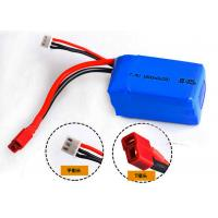Buy cheap 1800mAh 7.4V Lithium Polymer Batteries , Remote Control Car Rechargeable Batteries product