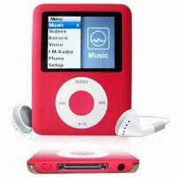 Buy cheap 256M - 8GB Memory 1.8 inch TFT Screen Mp3 Mp4 Player With WIN98, 30pin USB Slot product