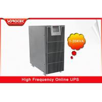 Buy cheap PF 0.9 HF Uninterrupted Power Supply , 1-20KVA ups computer battery backup product