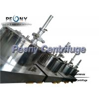 Buy cheap Peony High quality Stainless steel GMP standard Scraper Basket Centrifuge With Siemens PLC Programming product