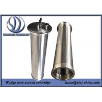 Buy cheap Stainless Steel Wire Mesh Cylinder For Automatic Self Cleaning Filtration System product