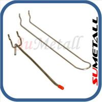 China Peg hook and pegboard hooks for shop shelving on sale