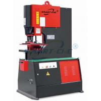 Buy cheap Light Weight Hydraulic Ironworker , 90 Ton Ironworker Single Action product