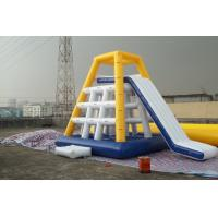 China Children Outdoor Inflatable Water Slide for Rent , 0.9mm PVC Fire Resistant on sale