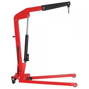 Buy cheap Red Double Pump Folding 1Ton Engine Hoist And Stand product
