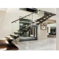 Buy cheap Customized cast iron staircase mono beam staircase wood staircases iron staircase railing product