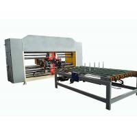 Buy cheap Double Servo Two Piece Carton Box Stitching Machine Touch Screen Operated product