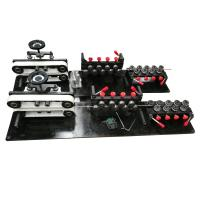 Buy cheap Small CNC Wire Bending Machine 10mm Line With 7 Rear Straightening Pulleys from wholesalers