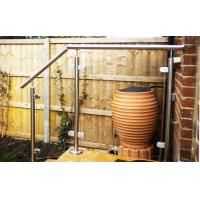 Buy cheap Top Mounted Steel Glass Balustrade product