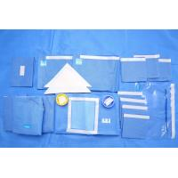 Buy cheap Breathable SMMS EO Sterile Fenestrated Drape Packs for Clinic Surgery product
