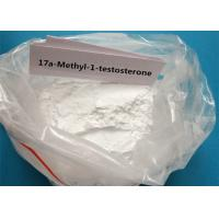 Buy cheap White Steroid Powder 17a-Methyl-1-testosterone For Muscle Builder CAS 65-04-3 product