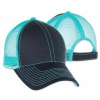 Buy cheap Custom Mega Mens Mesh Ball Caps Contrast Stitch Trucker Two Tone Classic Cotton Blend product