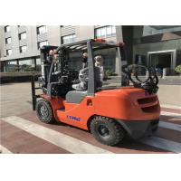 Buy cheap LTMA brand Gasoline Forklift Truck 3 .5 Ton with Cabin / Air - Conditioner product