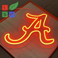 Buy cheap Longlife Neon Letter Sign LED Shop Display Red 3D Custom Signage With Clear Back product
