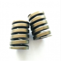 Buy cheap Flat Coiled Anodized Stainless Steel Die Springs product