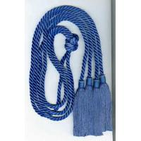 Buy cheap 52 Inches two soft rayon honor cords tied-together with 4 inches tassels on both ends product