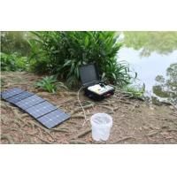 Buy cheap Compact Portable Solar Water Purifier Suitcase Style DC12V DC24V Water Filtering System product