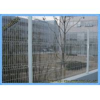Buy cheap 2.5m Width Vinyl Electrostaic Paint Powder Galvanized 3D Curved Welded Mesh Fence product