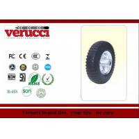 China 4.00 - 8 14 Inch Rubber Tyred Wheels / Small pneumatic wheel  For Trolleys on sale