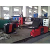 Buy cheap Automated CNC Flame Plasma Cutting Machine Carbon Steel For industrial product