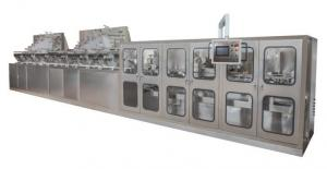 Buy cheap LTQF-2800/360/5800B Fully automatic Wet wipes production line (40-120pcs/pack) high speed packaging machine product