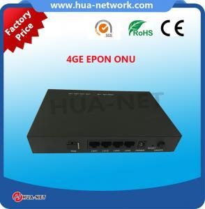 Buy cheap ブラック ボックス4GE EPON/GEPON ONU FTTH ONU/Fiber視覚ONUの通路のタイプに金属をかぶせて下さい product