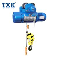 Buy cheap TXK CD Type Wire Rope Hoist Control Pendent With Overload Protection Application Warehouse product