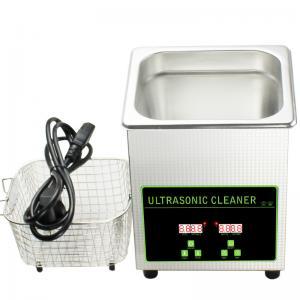 Custom Ultrasonic Fuel Injector Cleaning Machine Small Ultrasonic Cleaner 2L