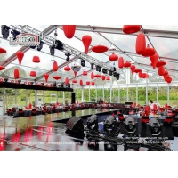 Buy cheap Luxurious Aluminum Frame Event Tent  Outdoor Wedding Party Glass Hard Wall product