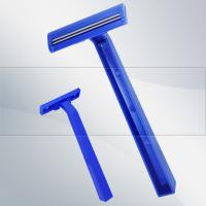 Buy cheap Single blade shaving razor with comb for hospital use razor product