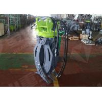 Buy cheap ZX60 Mini Excavator Rotating GrappleHydraulic Timber Grappling Attachment product