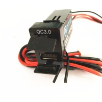 Buy cheap 12V 2.4A QC3.0 fast with cover car charger for phone product