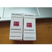 Buy cheap Pharma Box / 10ml Vial Boxes Packaging Customized Size With Perforated Line product
