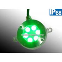 Buy cheap Color Changing 12V DC Green Underwater LED Pond Lights Energy Efficient product