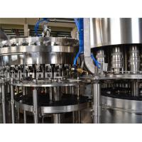 Buy cheap 9KW 380V Carbonated Drink Filling Machine 8000BPH Liquid Filling Machines product