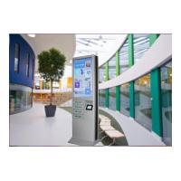 China 4 Cell Phone Charging Lockers 43 Inch Advertising Digital Signage Floor Stand on sale
