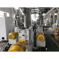 China Fiber Glass Plastic Ppr Pipe Extrusion Line With Single - Screw Design on sale